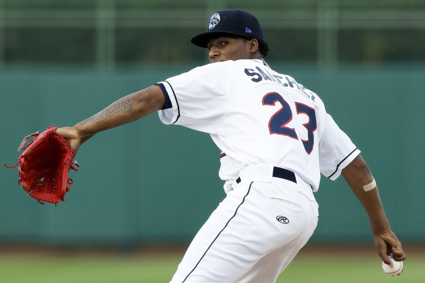 One night with Phillies pitching prospect Sixto Sanchez and his 100-mph fastball