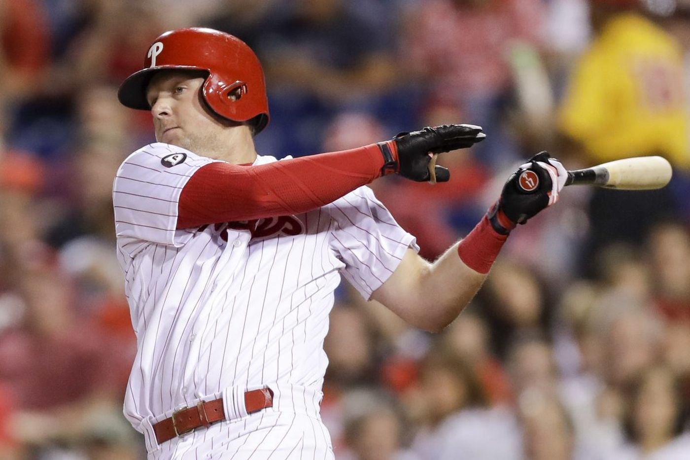 How the Phillies discovered and shaped Rhys Hoskins