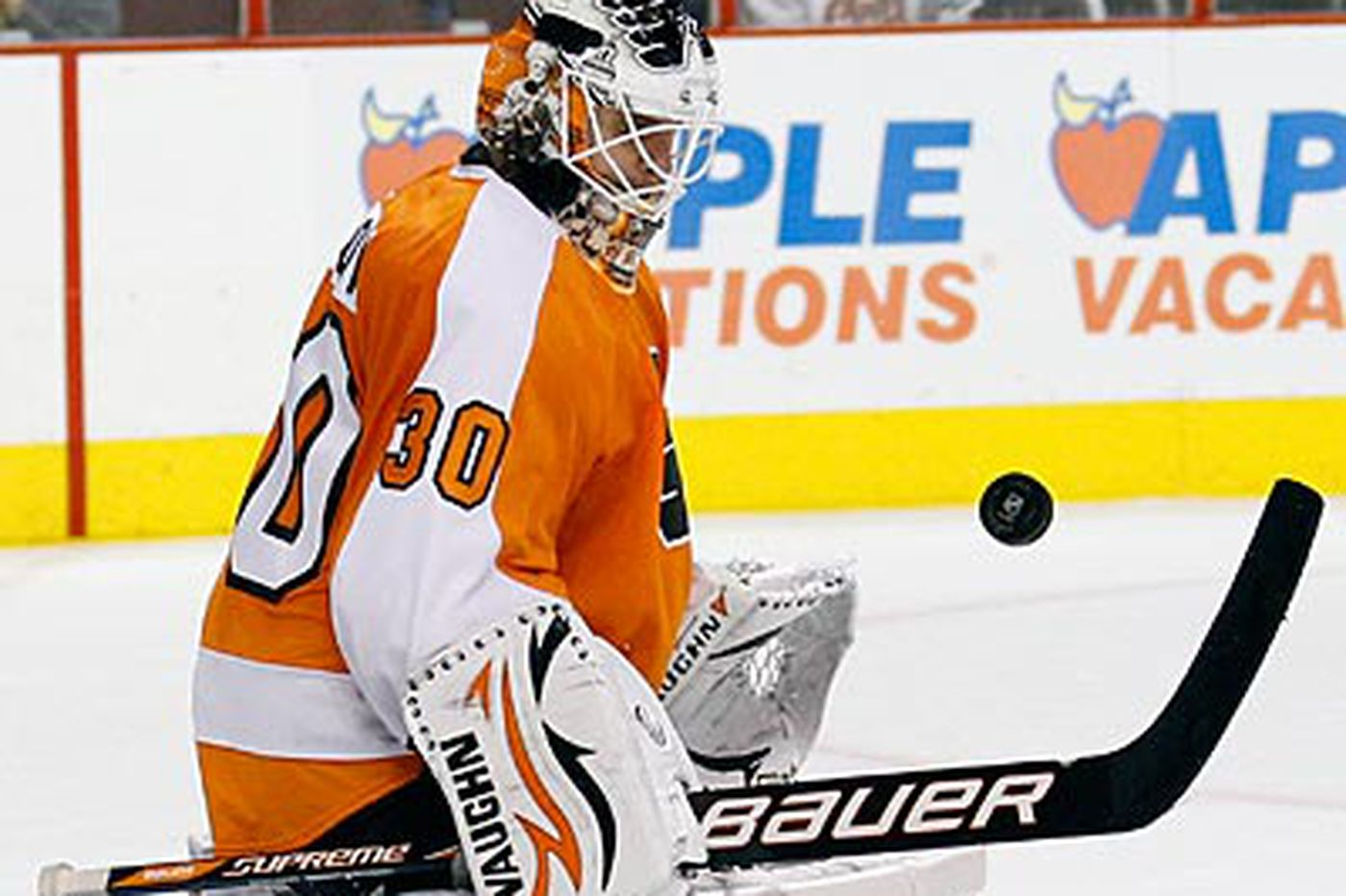 Bryzgalov trying to find his groove as the Flyers' new goalie