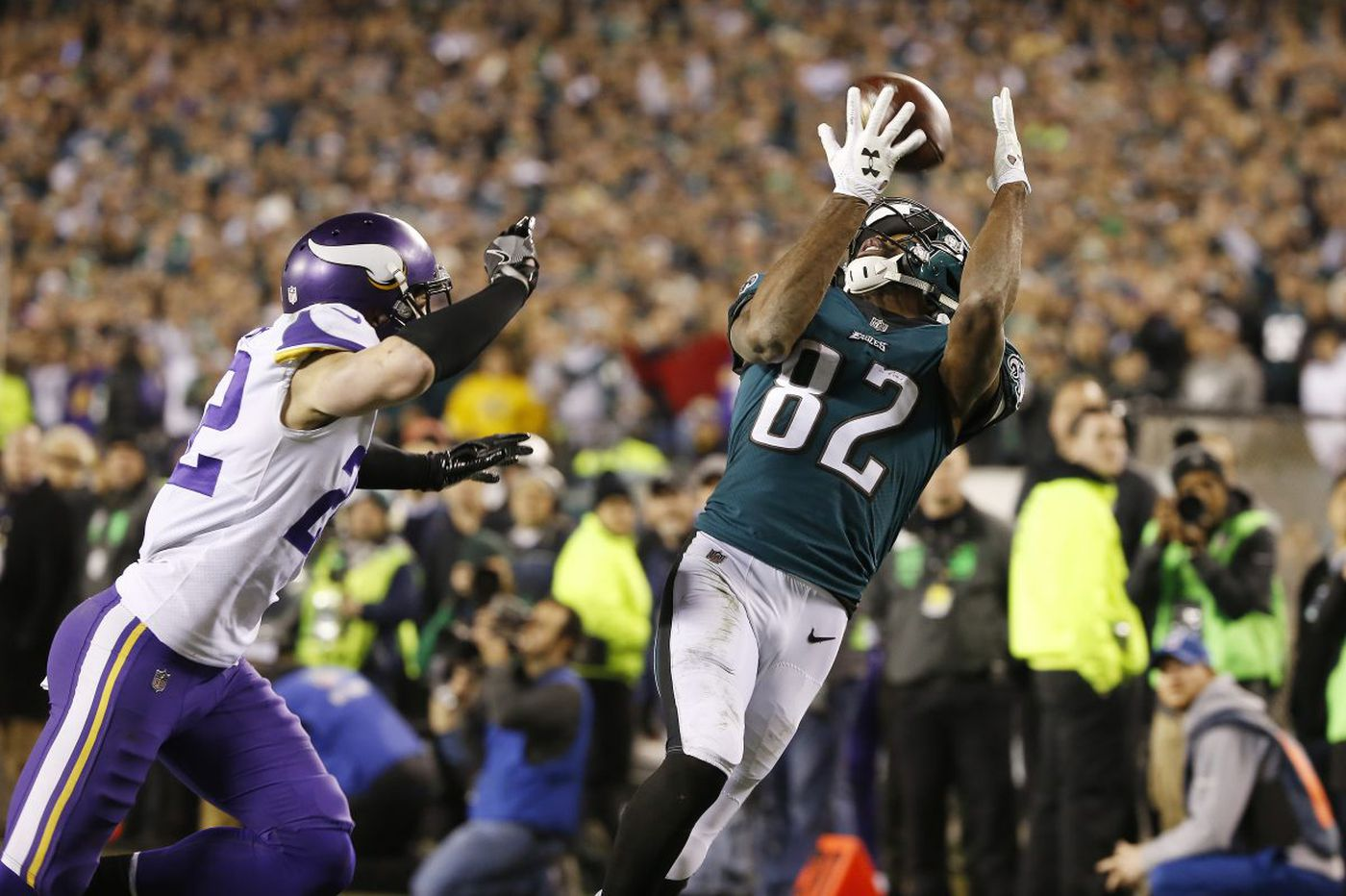 Eagles 38, Vikings 7 - the Eagles' Super Bowl berth-clinching win as it happened