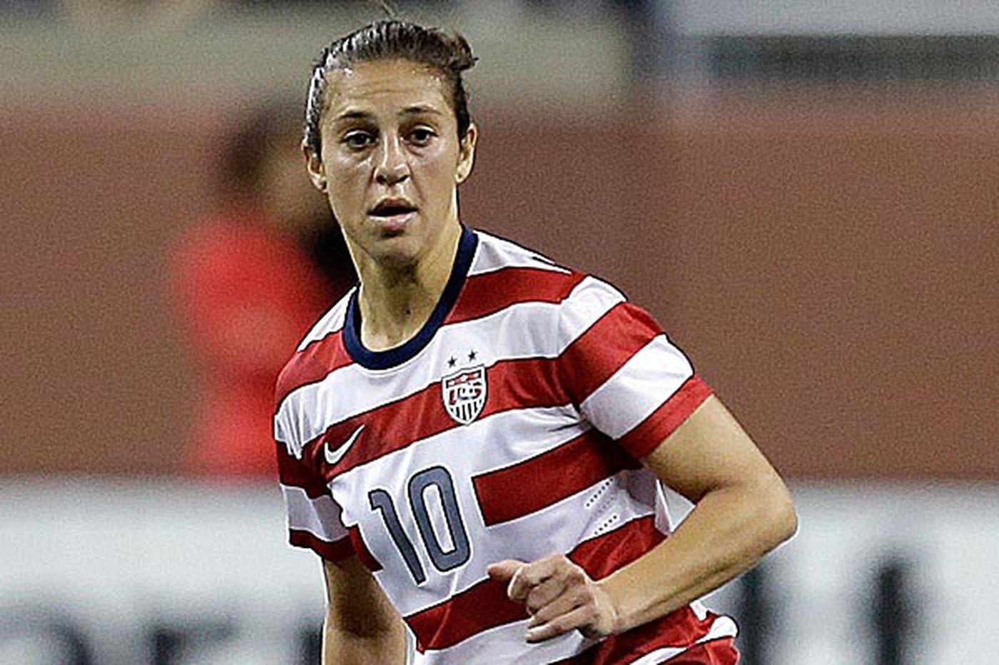 Lloyd ready to return to U.S. women's national soccer team