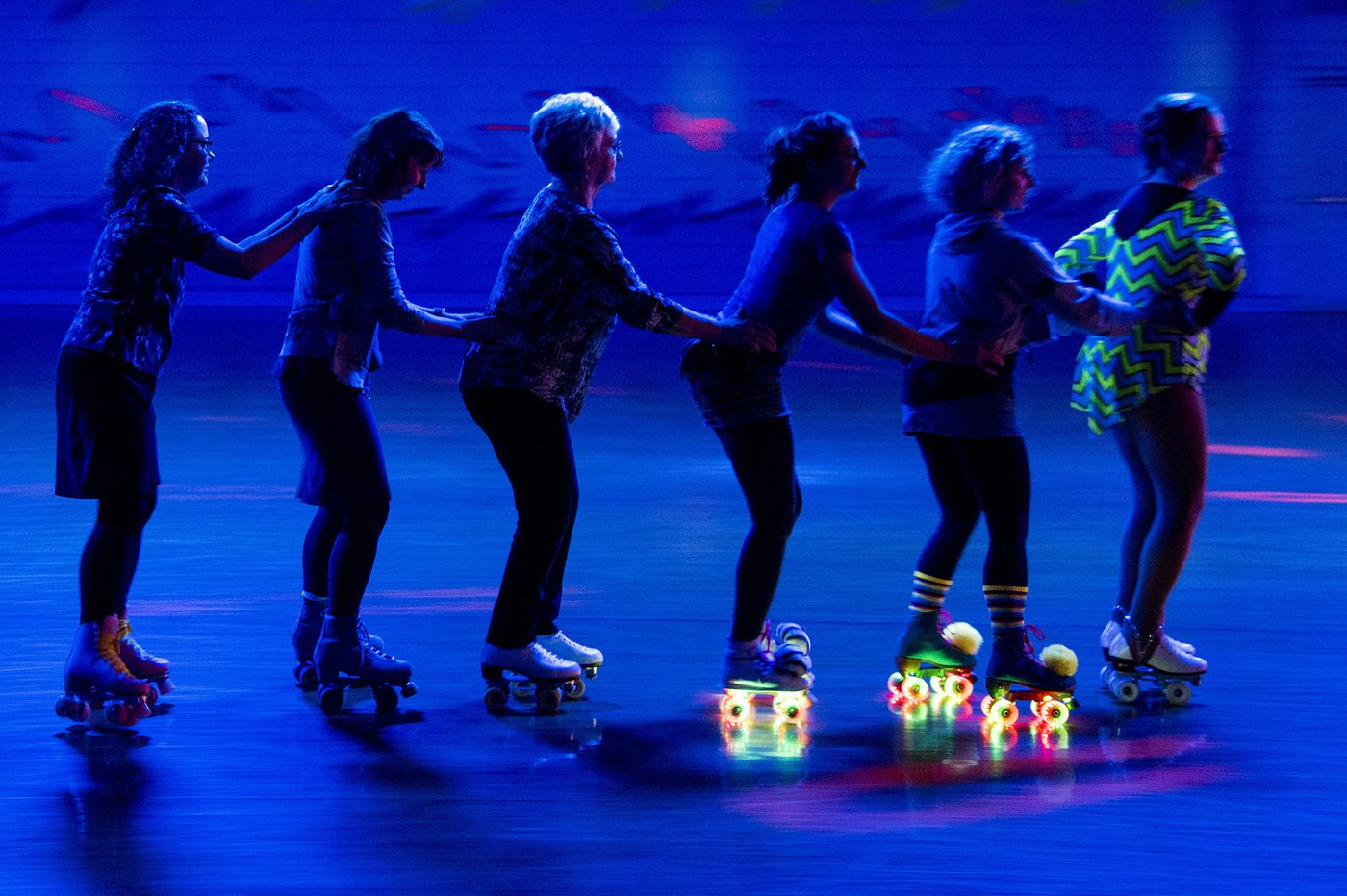 The thrill of the skate. There's a roller rink revival in Philly and beyond.