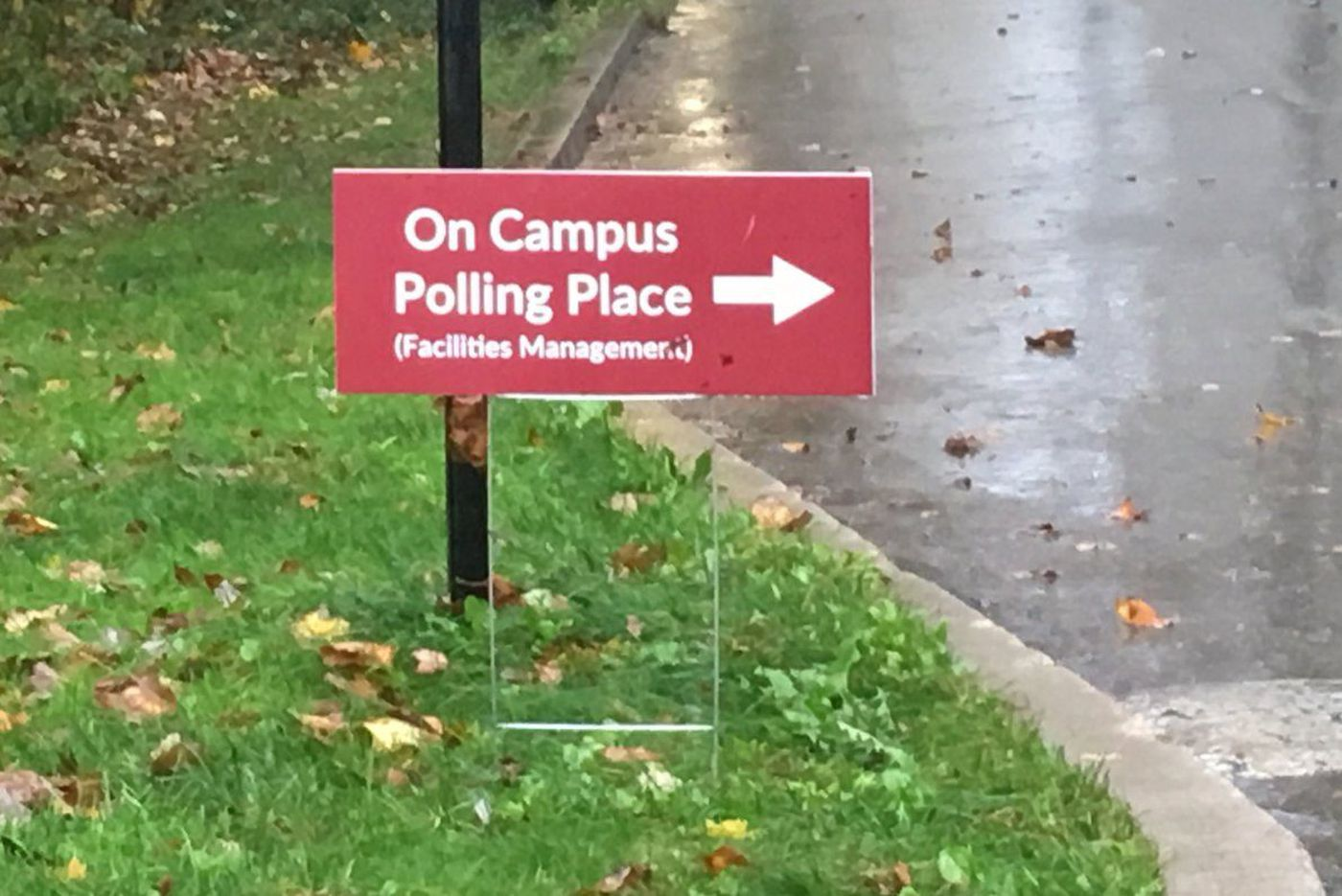 Haverford College's new polling place draws strong early turnout