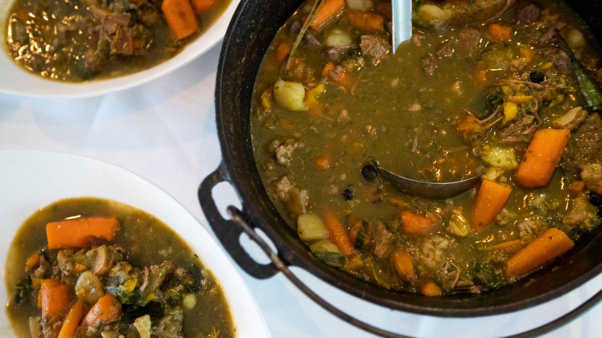 What is Philadelphia Pepper Pot Soup?