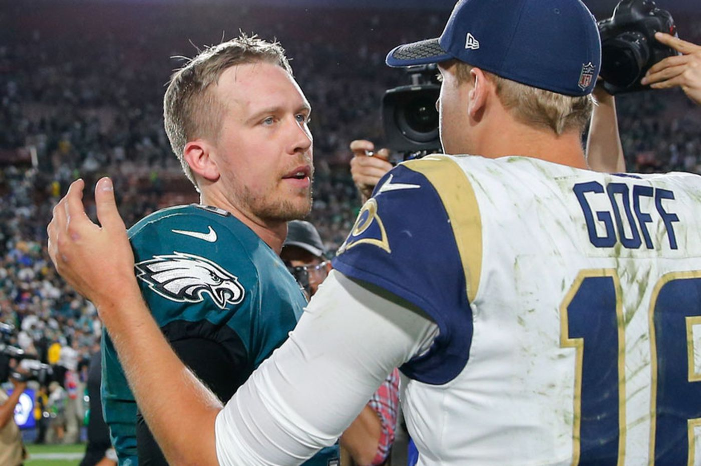 Don't tell the Rams the Eagles are vulnerable | Week 15 NFL Preview