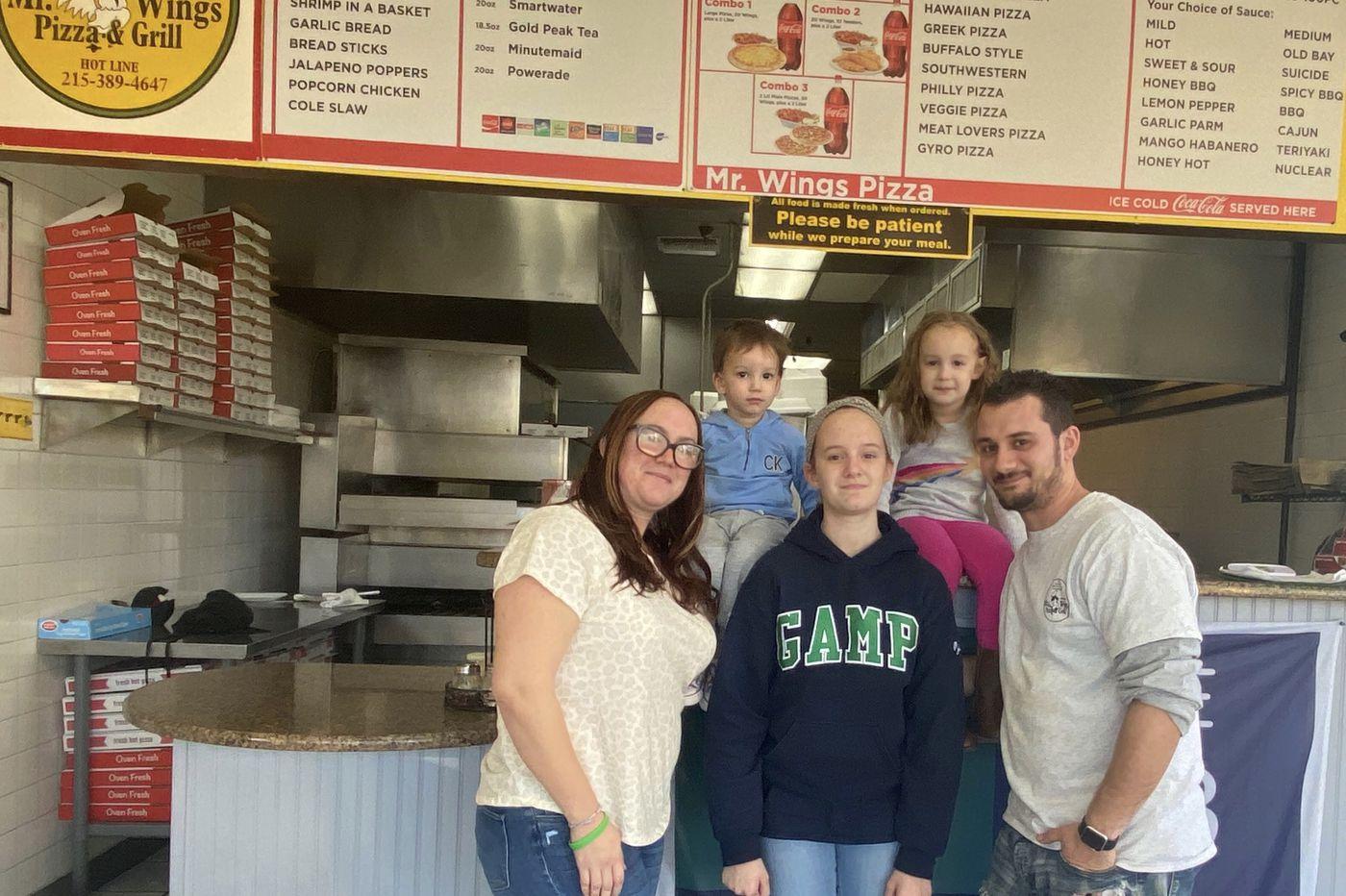 Parent Trip: Rebecca Wall and Jerry Karalis of South Philadelphia