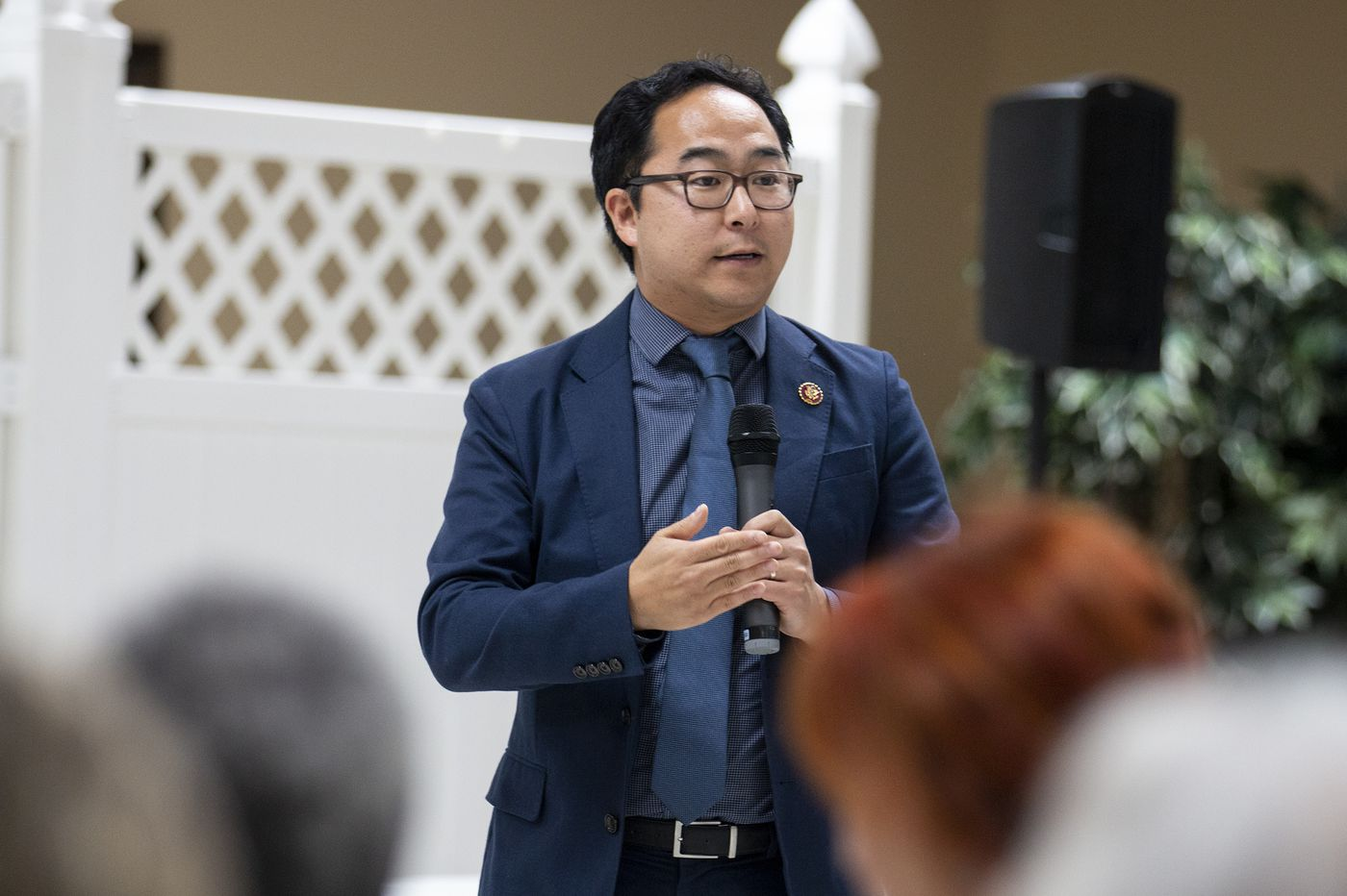 Constituents urge impeachment at U.S. Rep. Andy Kim's town hall meeting