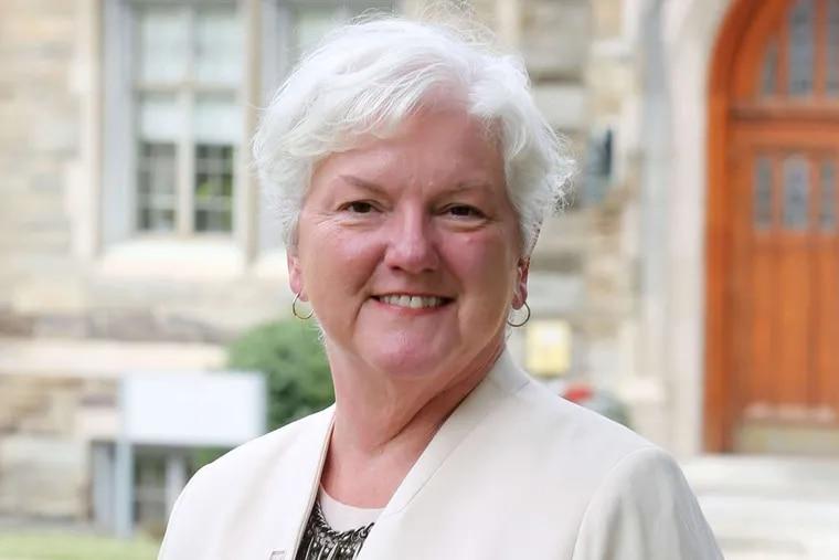 Rosemont College president Sharon Hirsh.