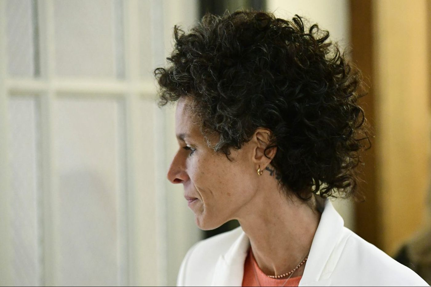 Constand denies defense claim she plotted to extort Cosby