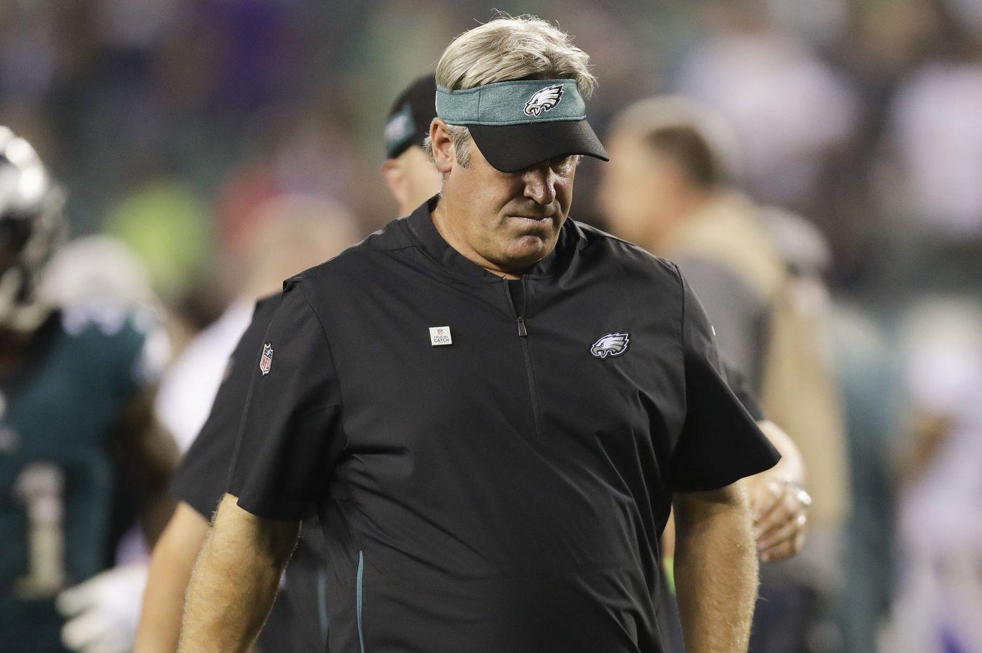 Doug Pederson accepts and deserves blame for Eagles loss | Bob Brookover