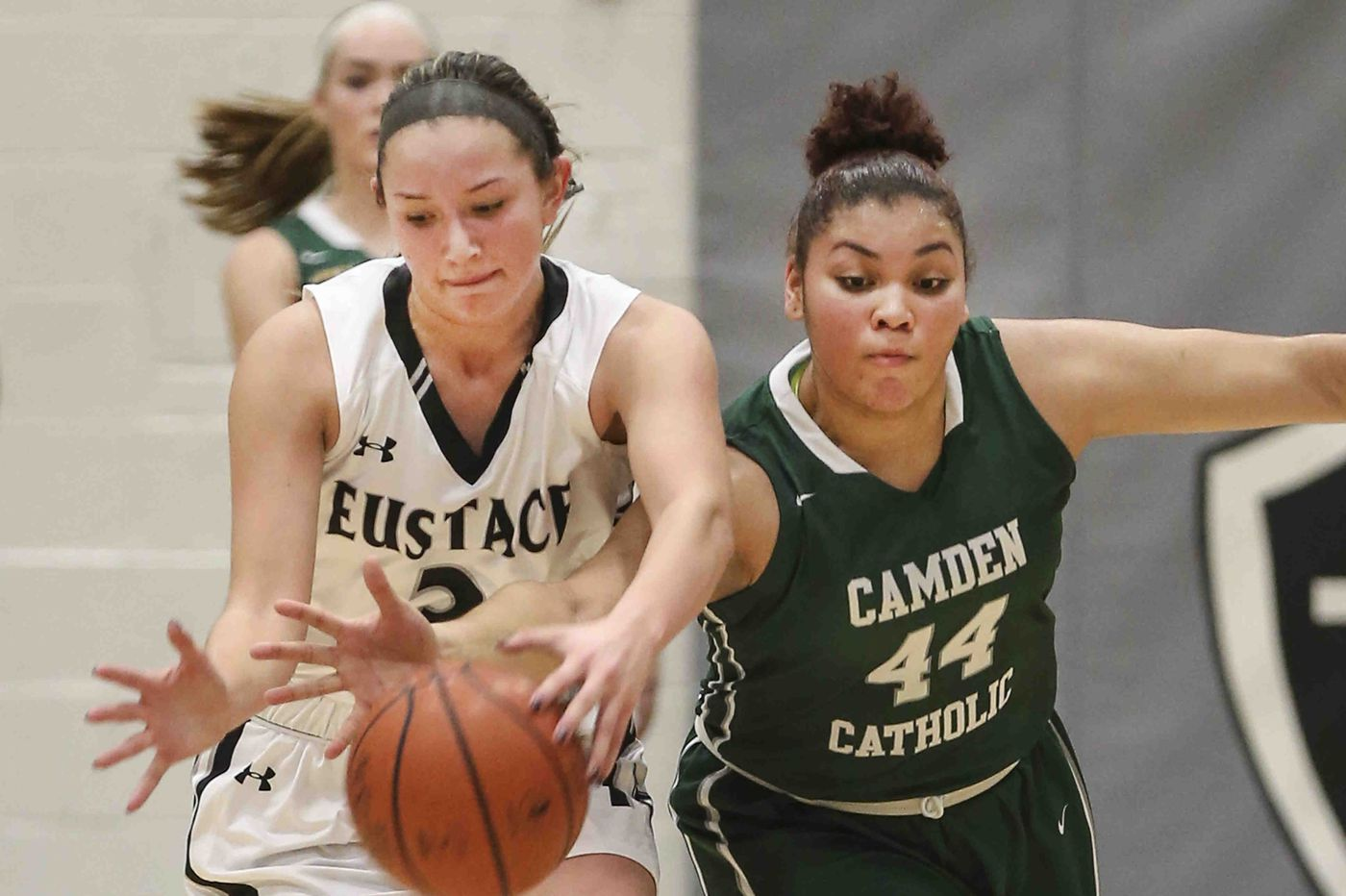 Between basketball and softball, there are few days off for Bishop Eustace star Lauren Punk