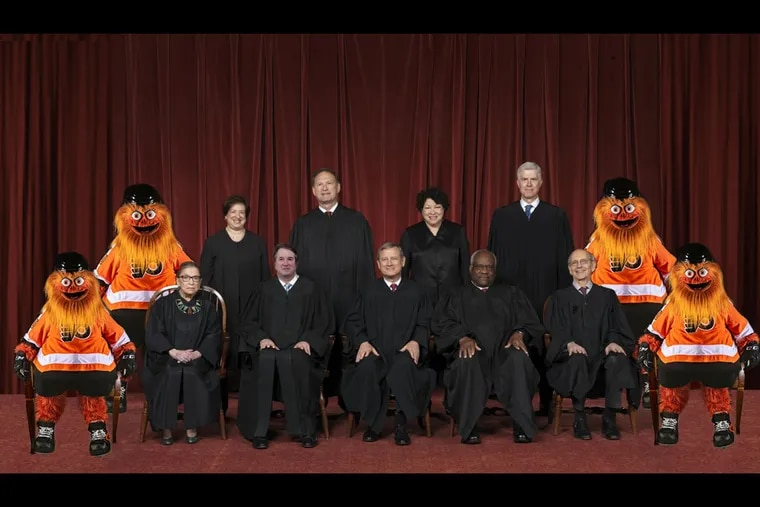 """The 1.20.21 Project, a liberal courts reform initiative, tweeted this meme with the caption """"this is the future liberals want""""."""