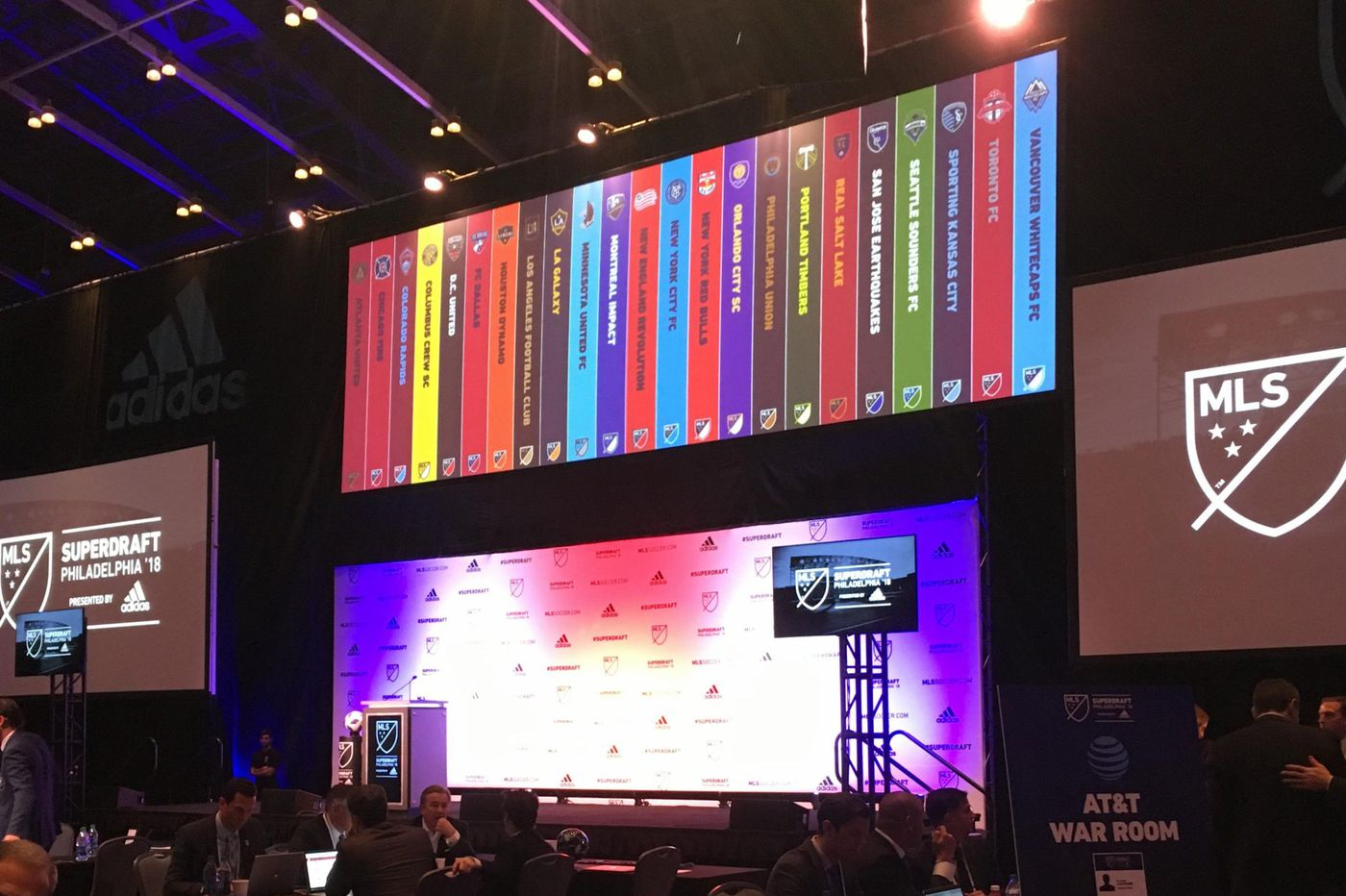 MLS' draft is gone from the United Soccer Coaches convention, but the league isn't