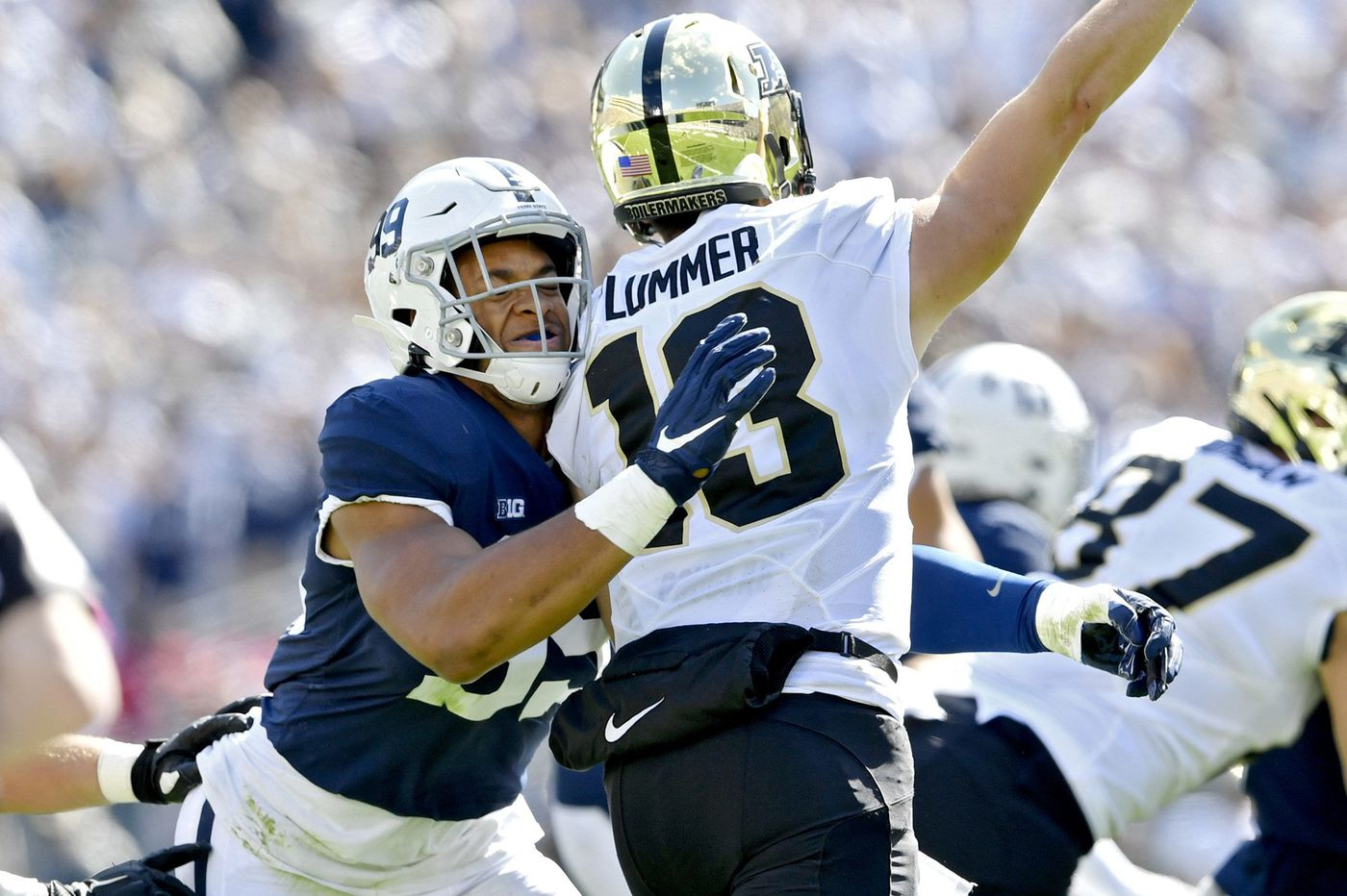 Penn State playing 'championship-level defense' through first five games