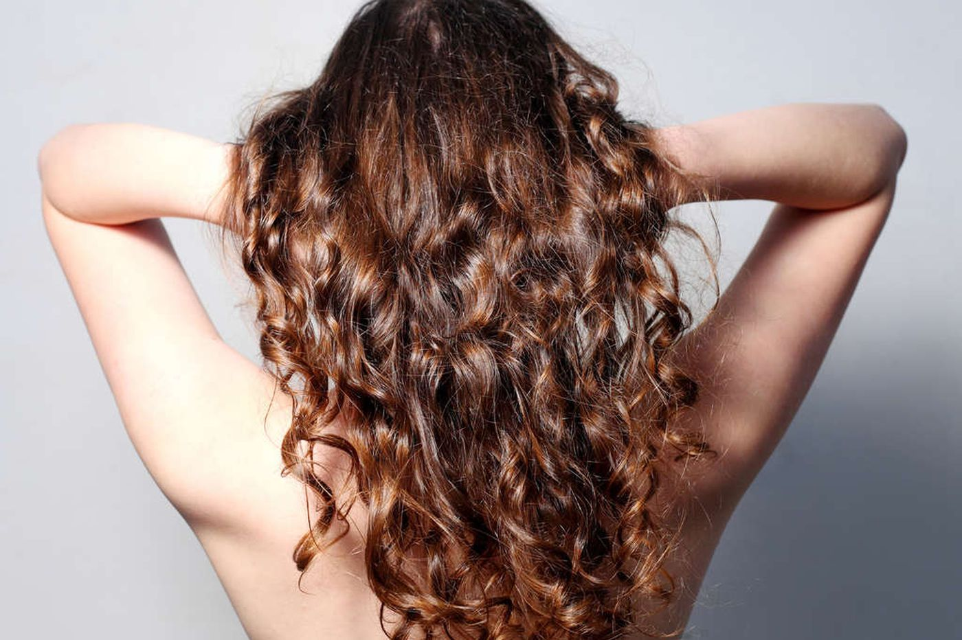Taking curly locks in hand