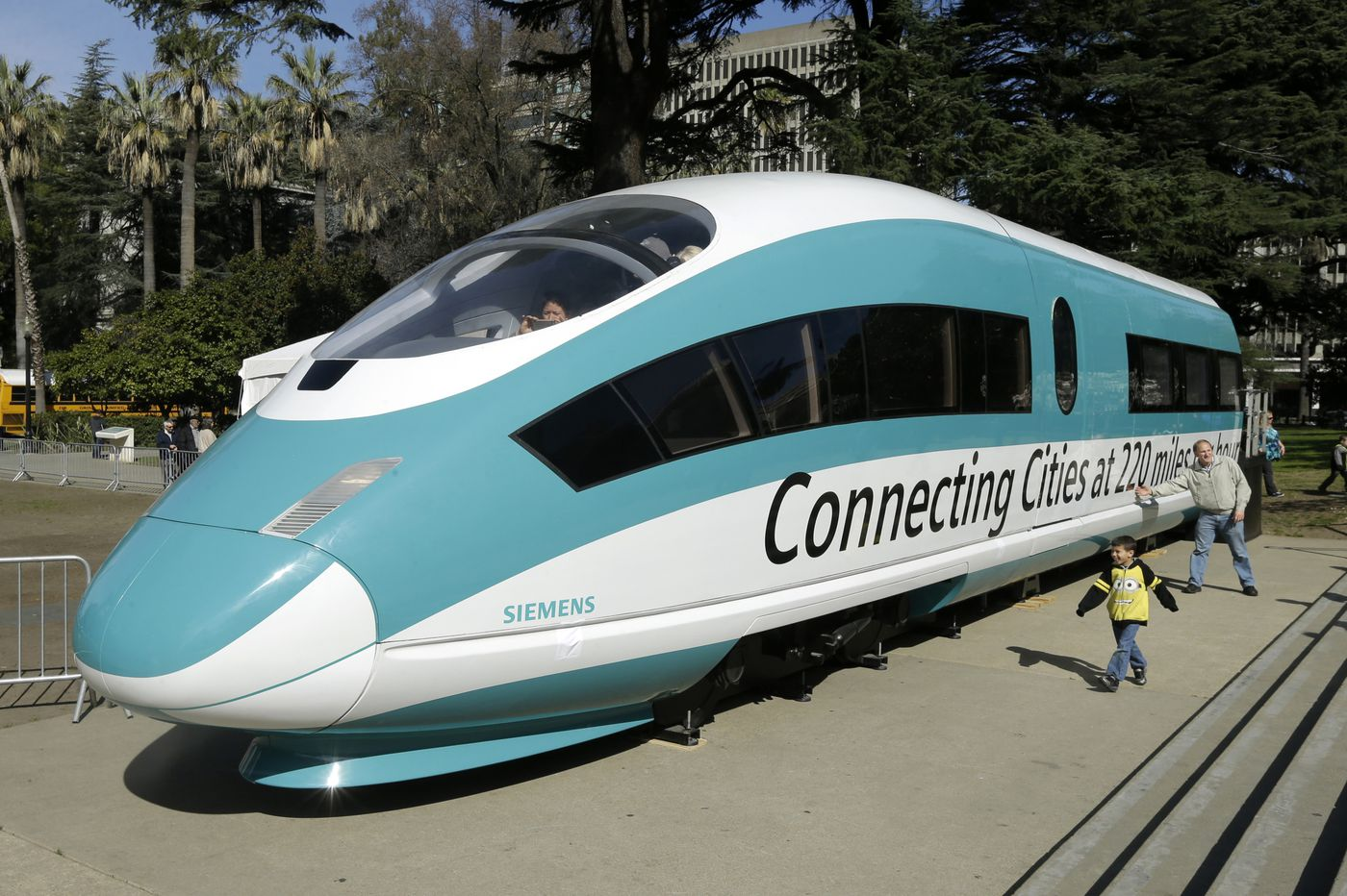 Trump wants California to pay back billions for bullet train