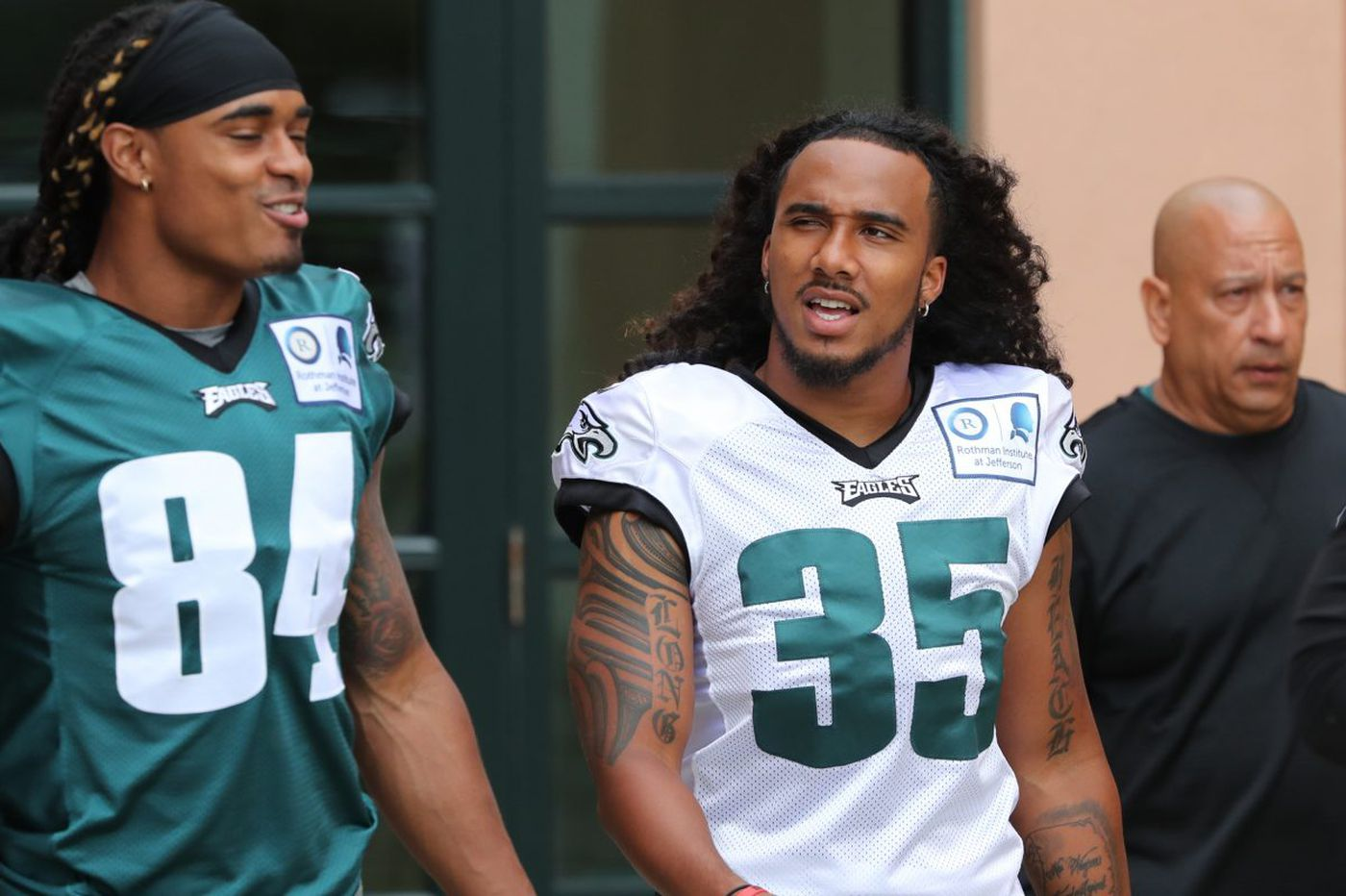 When will Eagles' cornerback Randall Goforth return after ACL injury?