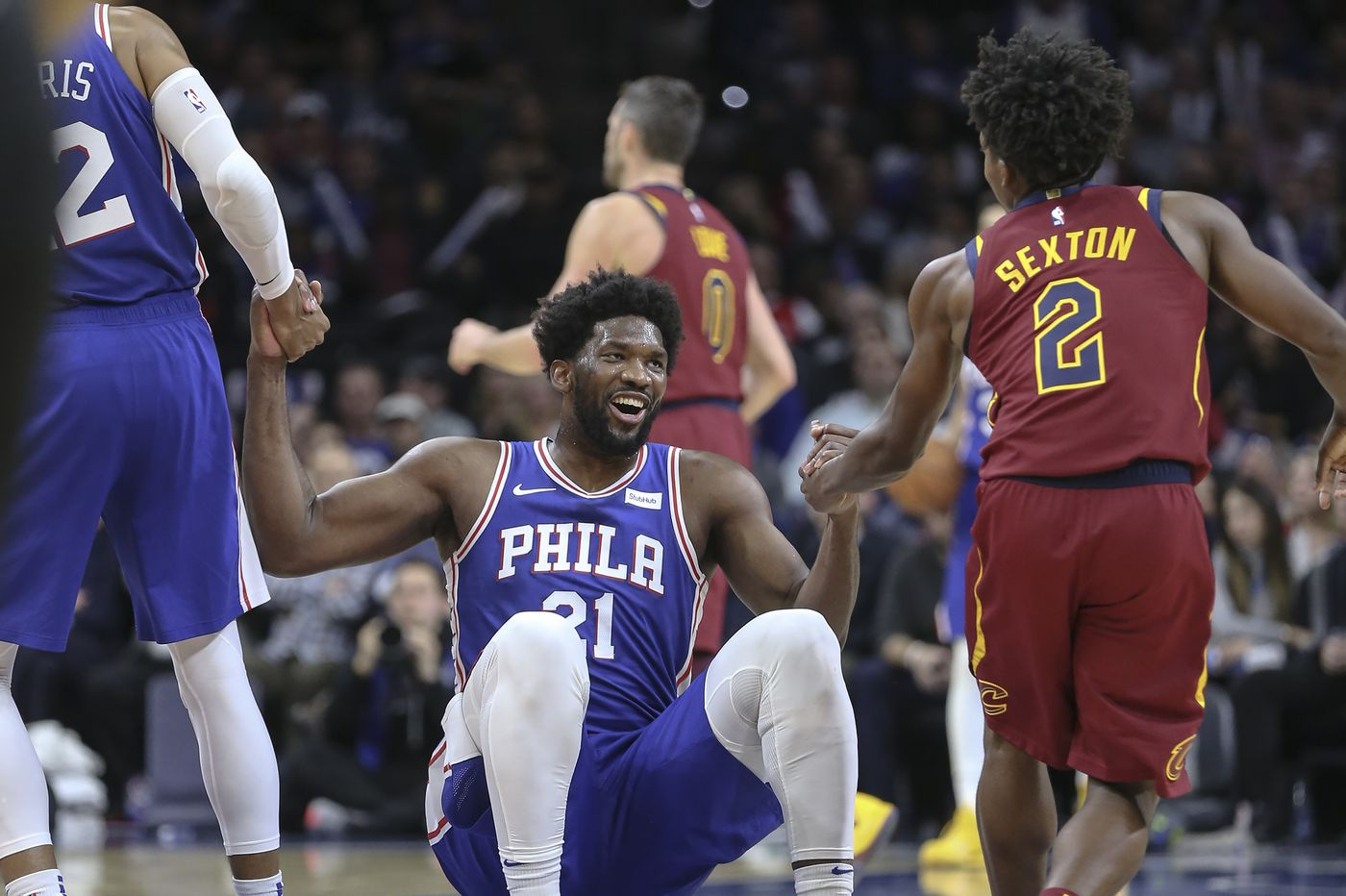 Joel Embiid striving to find his groove   Off the Dribble