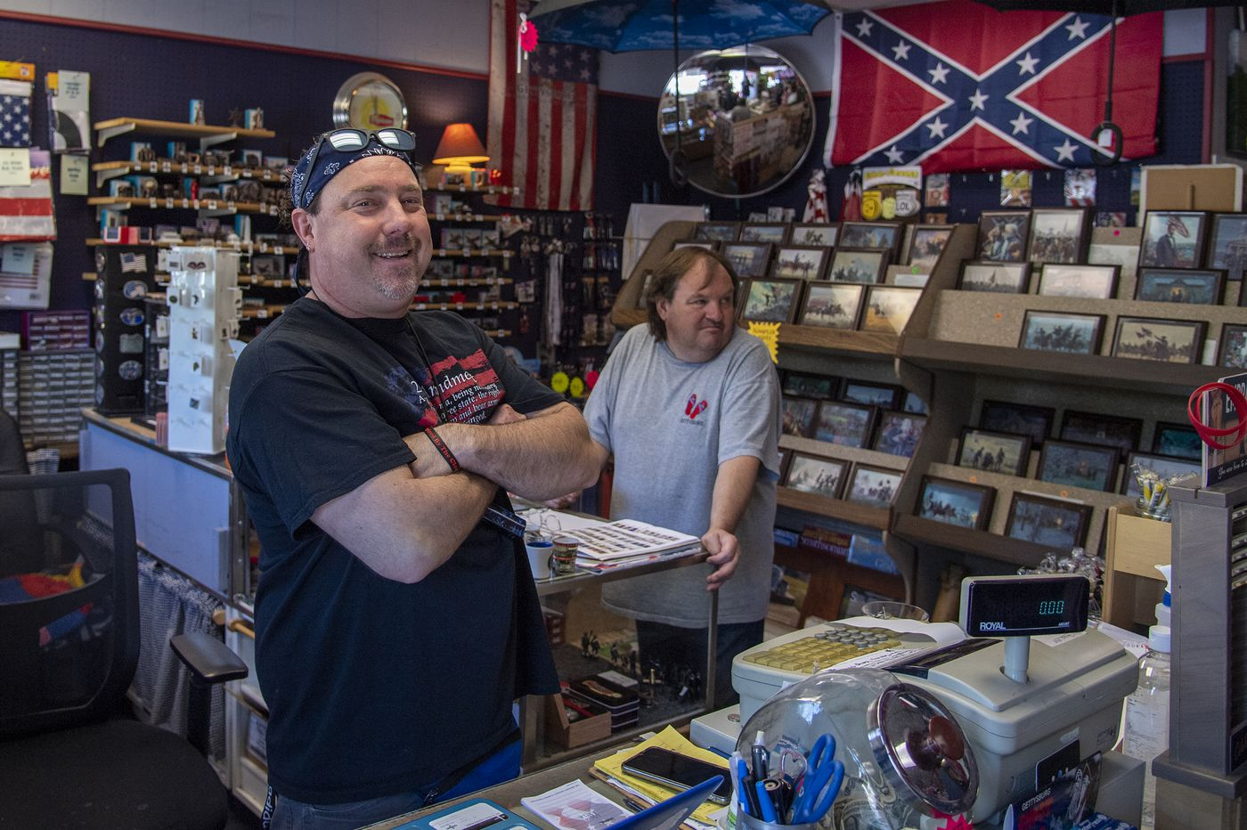 Gettysburg, home to America's most hallowed battlefield, reckons with symbols of the Confederacy