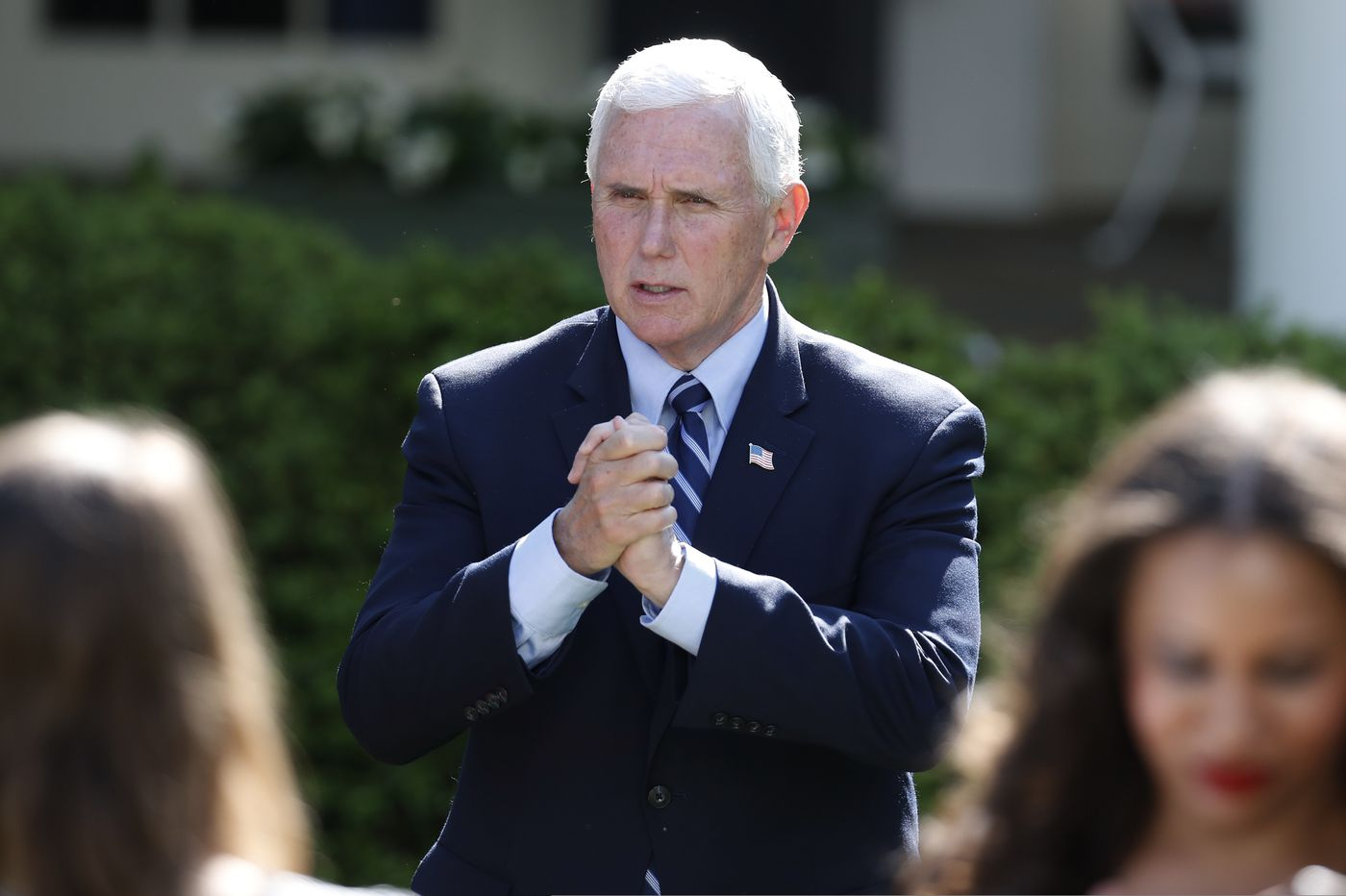 Aide to Vice President Mike Pence tests positive for coronavirus