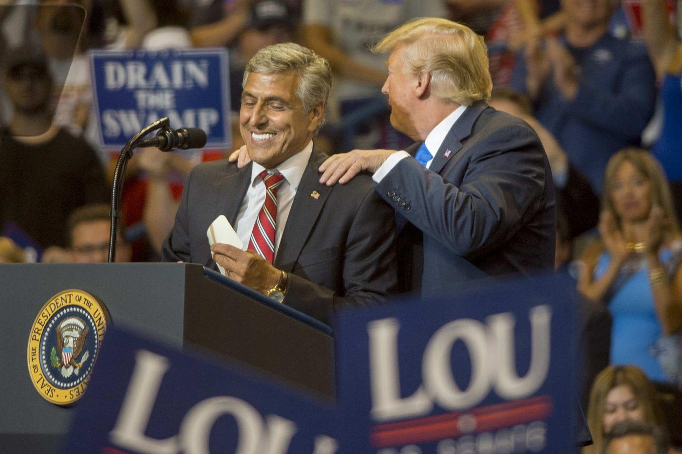 At Luzerne County rally, Trump hits usual themes, knocks 'Sleepin' Bob Casey'