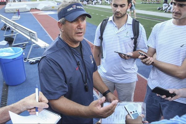 Old-school Penn coach Ray Priore embraces new safety measures | Mike Jensen