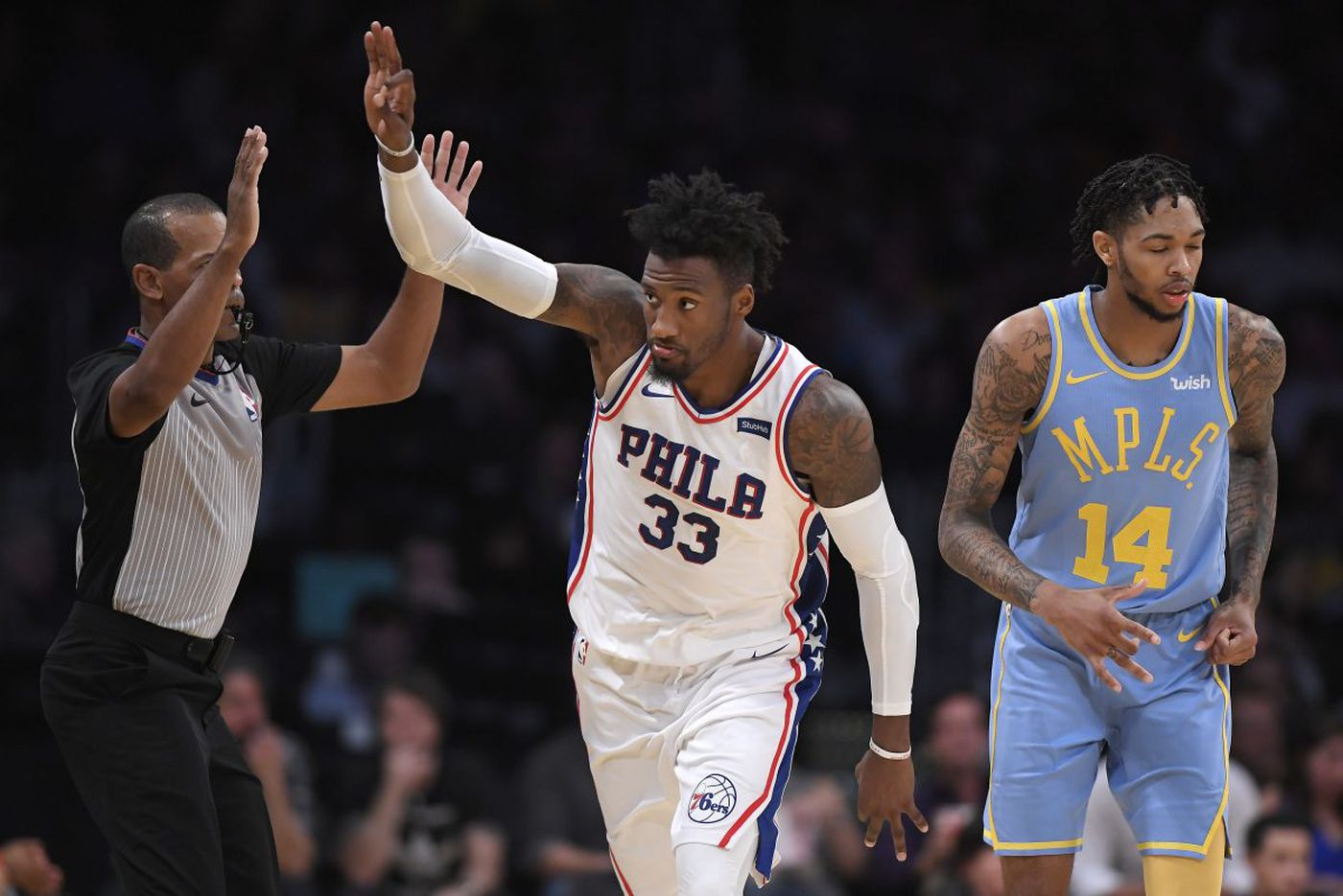 Robert Covington's contract extension with Sixers becomes official