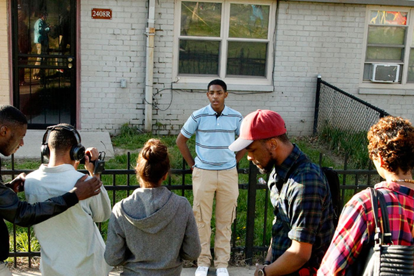 Students put feelings about their rough neighborhoods on video