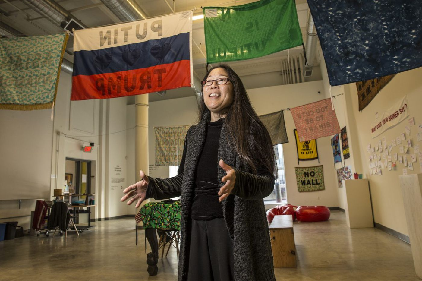 Gayle Isa is leaving the Asian Arts Initiative, now a force in the future of the city