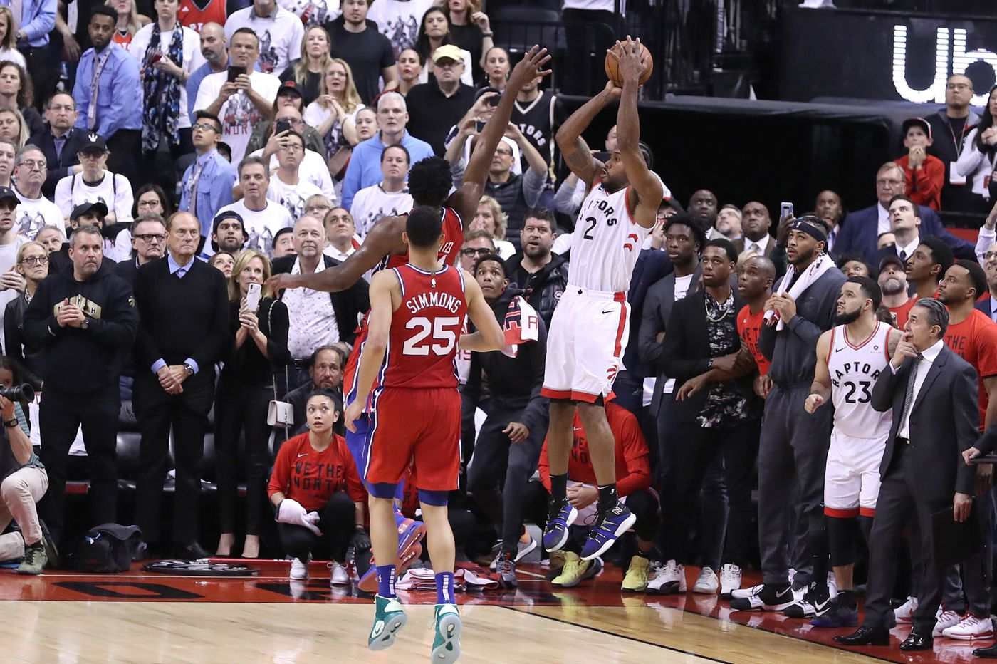 Raptors' Kawhi Leonard bounces Sixers out of playoffs, into uncertain offseason