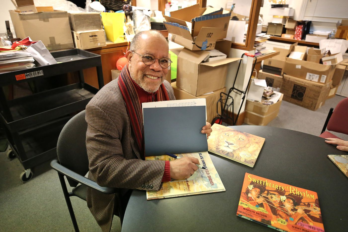 Beloved kids' book illustrator Jerry Pinkney has a big new show in Chestnut Hill