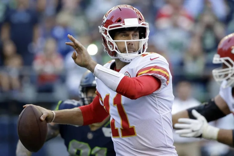 Alex Smith is a versatile and underrated quarterback for the Chiefs.