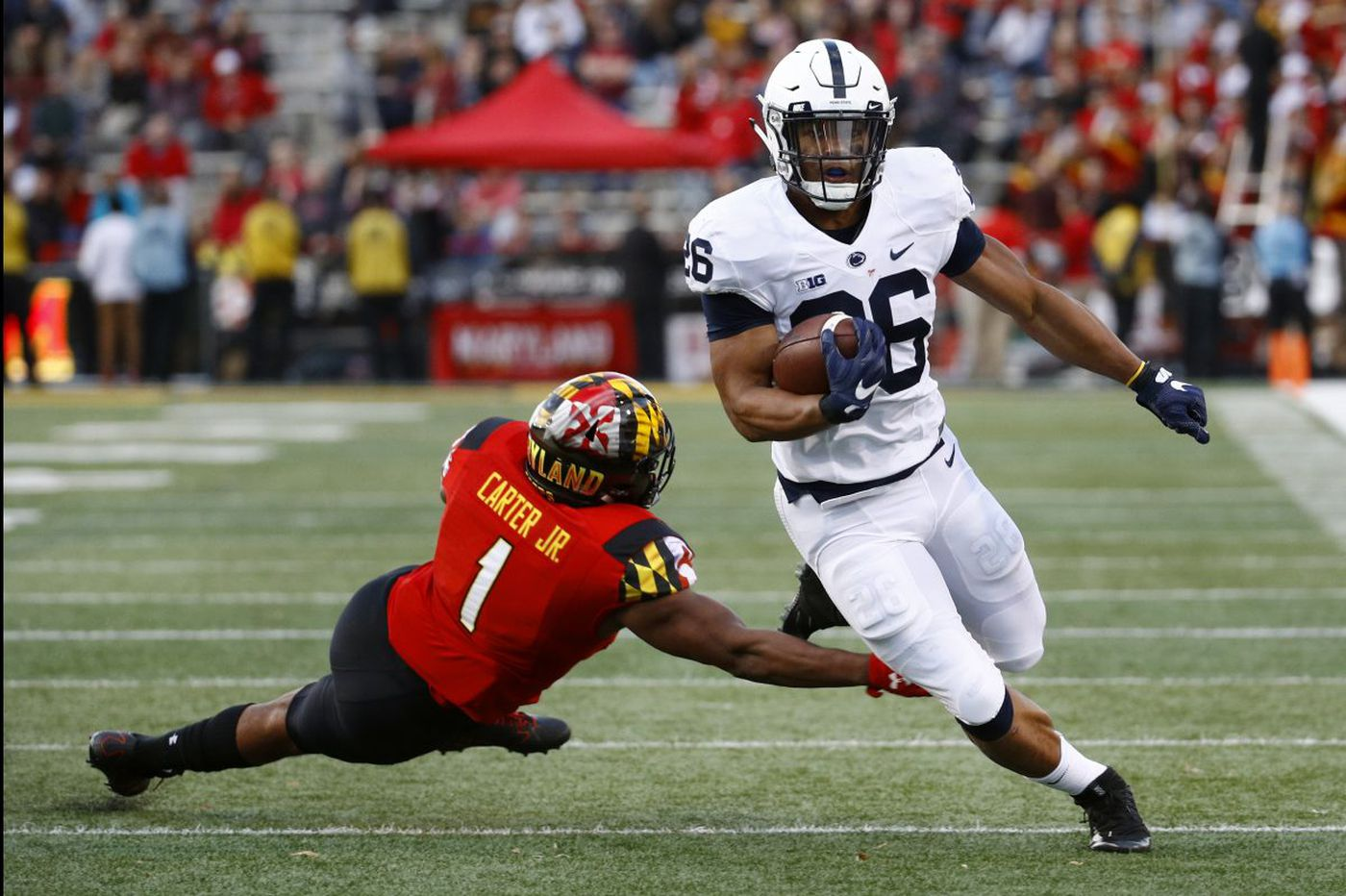 Penn State's Saquon Barkley not among Heisman Trophy finalists