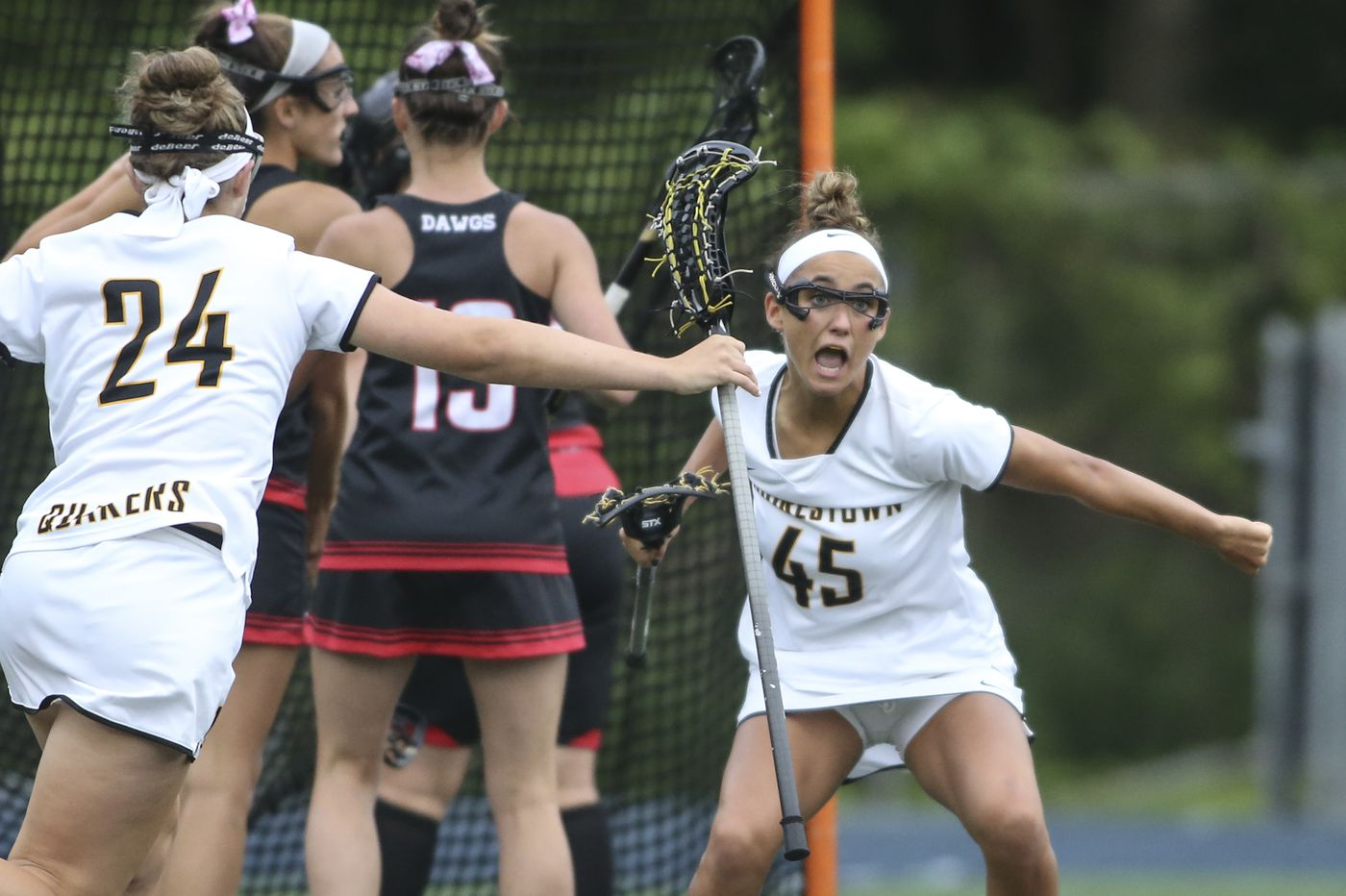Moorestown wins Tournament of Champions girls' lacrosse semifinal against Haddonfield