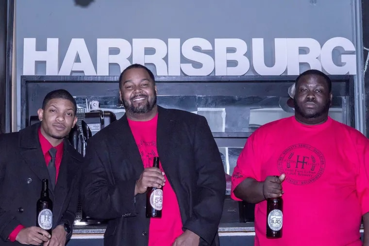 """Tim White, Shaun Harris, and Jerry """"JT"""" Thomas plan to open Harris Family Brewery in Harrisburg this year. The company is considered Pennsylvania's first black-owned brewery"""