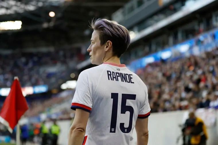 U.S. women's soccer team star Megan Rapinoe.