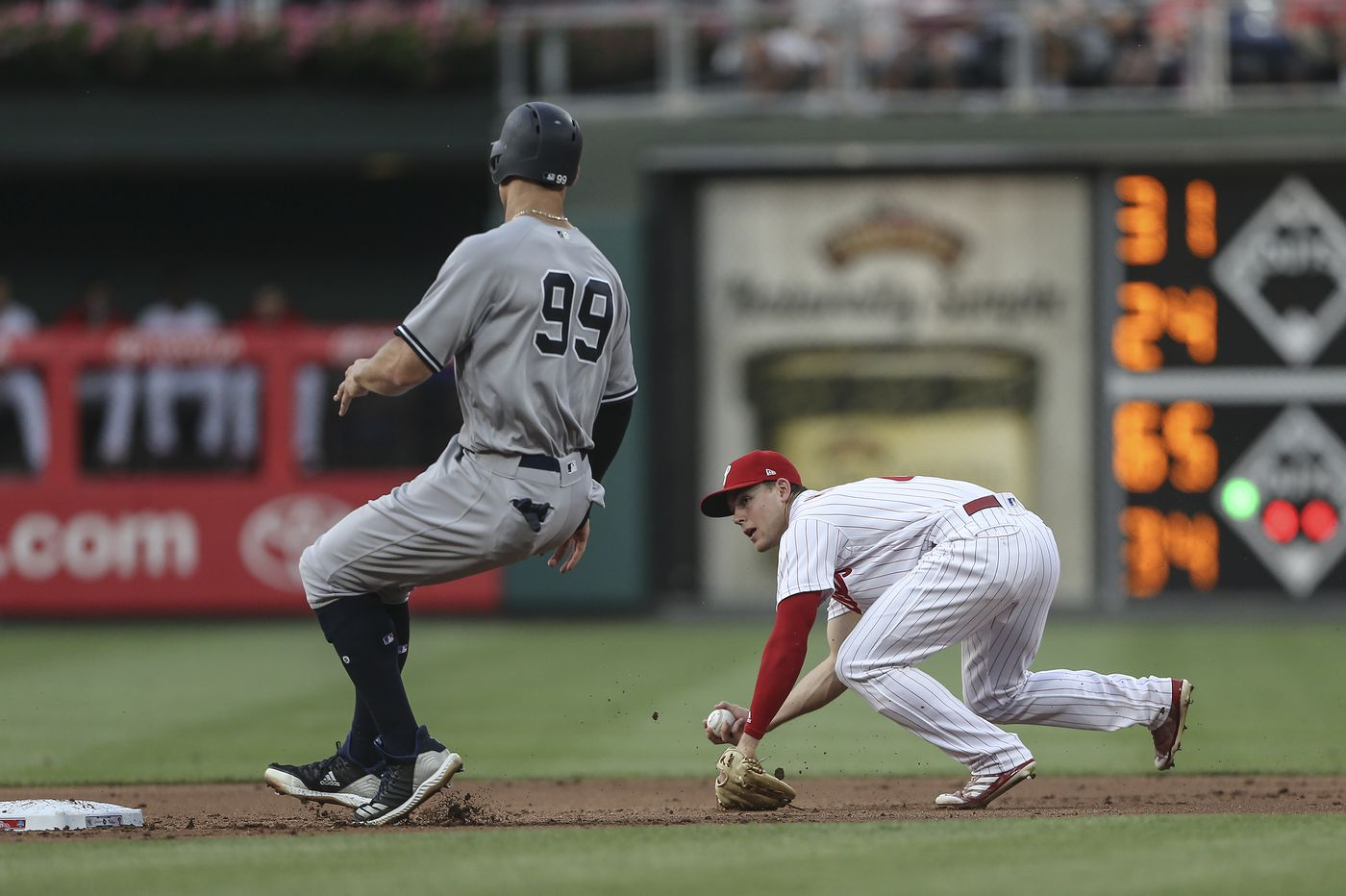 Phillies shut out by Yankees as defense fails Jake Arrieta again