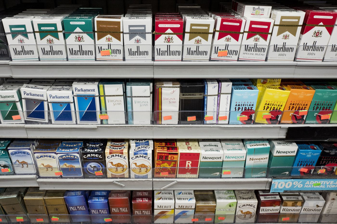 Illegal sales of cigarettes to Philadelphia youth doubled in 2018