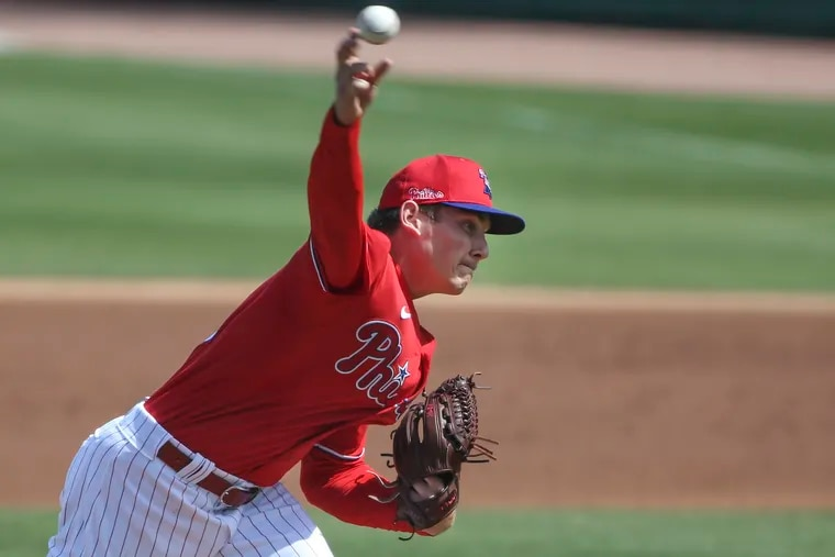 When top pitching prospect Spencer Howard gets called up by the Phillies this season, he will be used in short stints to maximize the limited number of innings he will be able to throw this season.