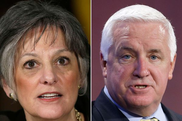 Poll: Almost all Dem candidates lead Corbett in potential 2014 matchups