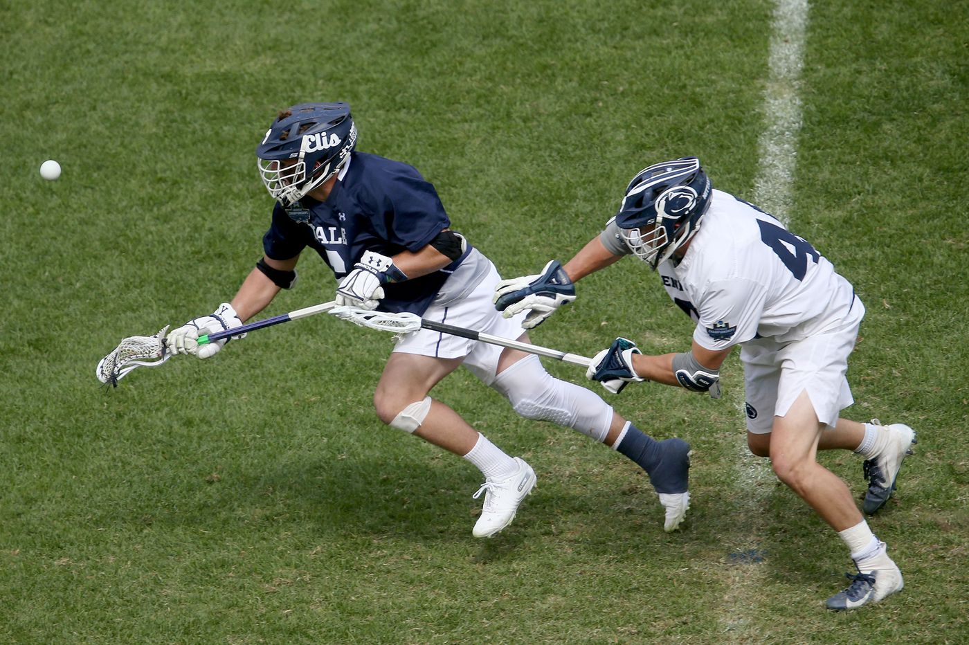 Penn State had few answers for Yale faceoff master T.D. Ierlan in NCAA Division I semifinals