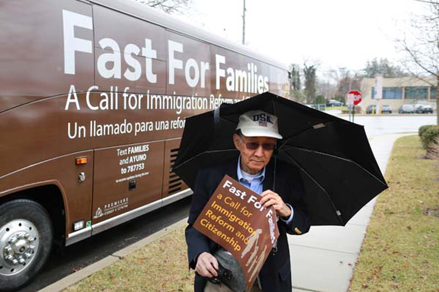 Fasting protesters press Meehan on immigration
