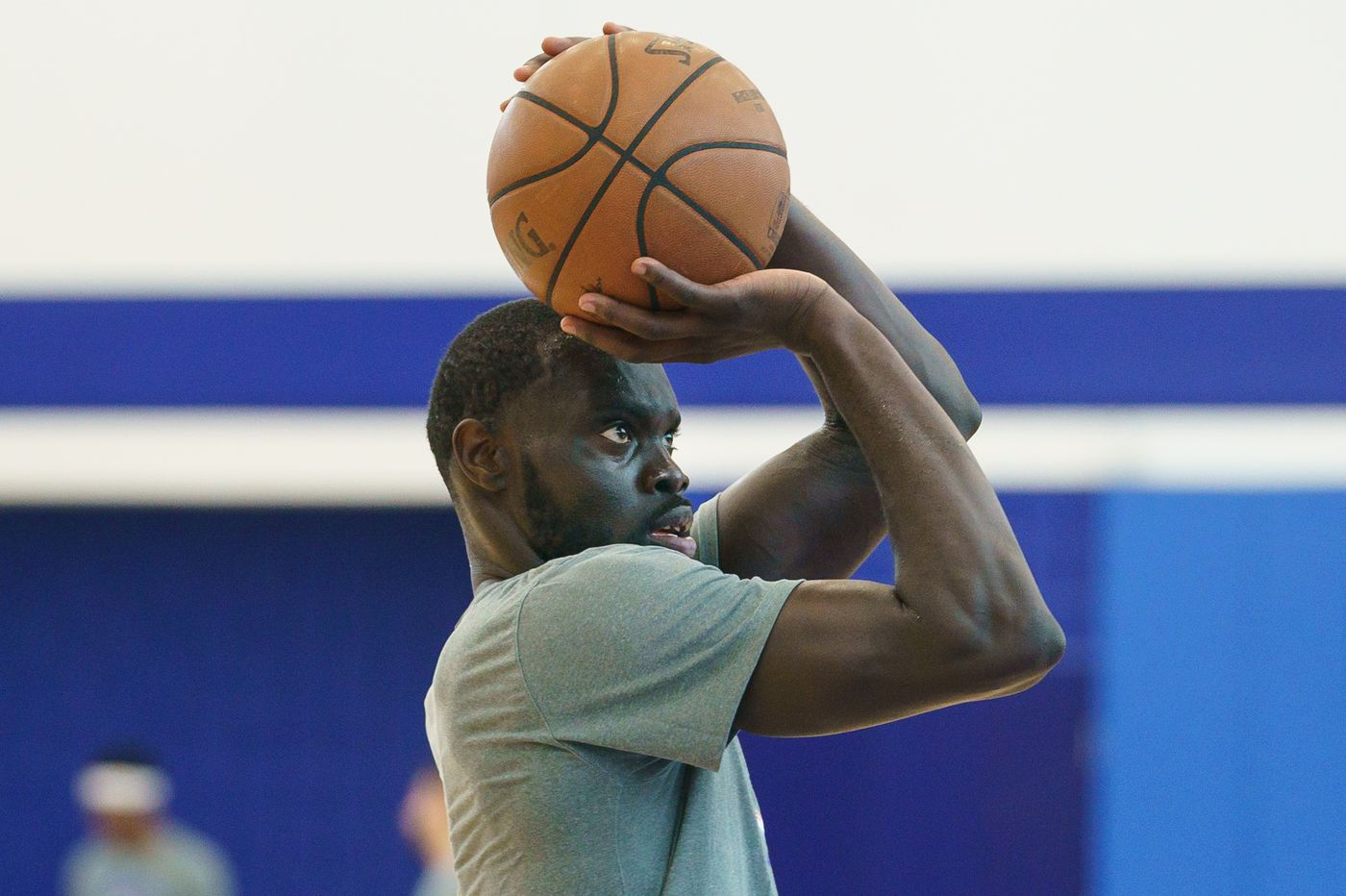 Sixers' Marial Shayok listed as day-to-day at summer league with left knee soreness