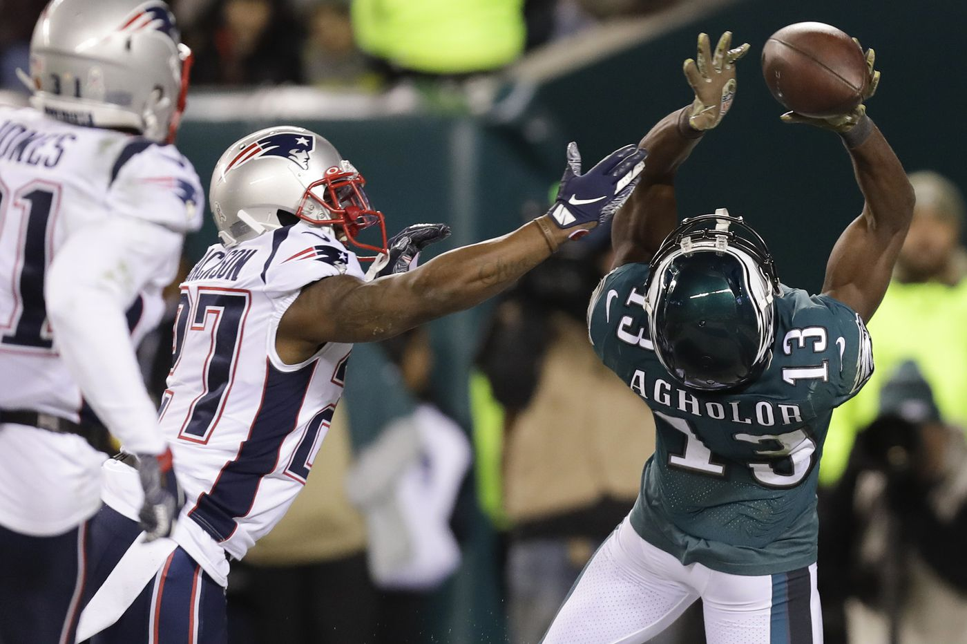 Has Eagles WR Nelson Agholor really regressed? What the numbers, and film, say.