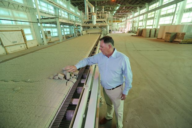 Eddystone glass recycling company doubles operation at former Baldwin Locomotive Works building