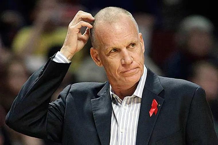Sixers head coach Doug Collins. (Nam Y. Huh/AP)