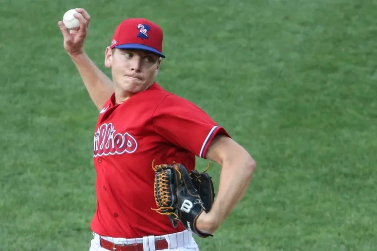 Phillies top pitching prospect Spencer Howard is expected to make his major-league debut in Sunday's doubleheader against the Atlanta Braves at Citizens Bank Park.