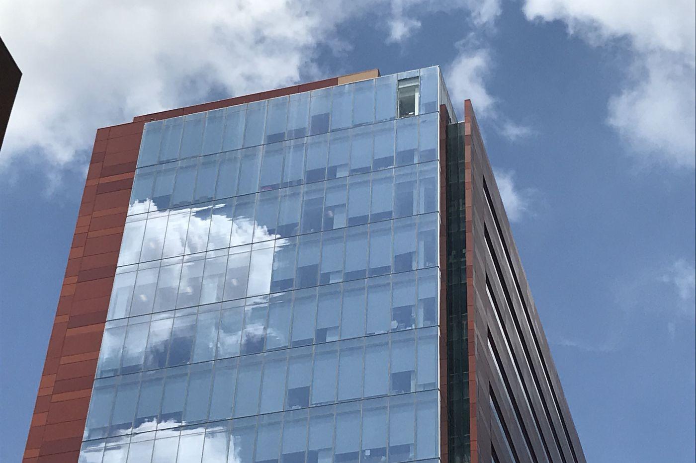 Penn Medicine building window falls from 20th floor, shattering on Center City street below