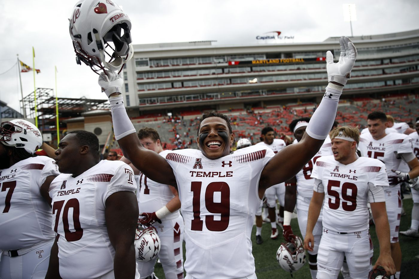 Temple impressive in 35-14 win over Maryland