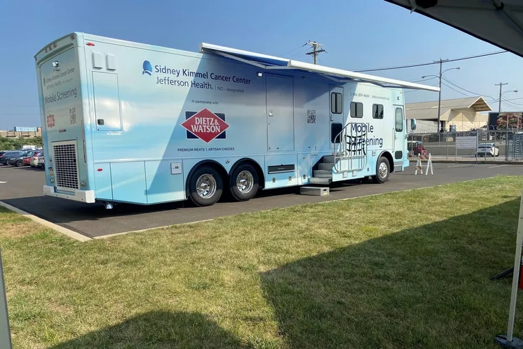 Jefferson Health's Sidney Kimmel Cancer Center recently launched an effort to better serve vulnerable populations in the Philadelphia region: a mobile cancer screening van that will be open Saturday, Sept. 11 from 9 am. to 1 p.m. at the Art Museum steps.